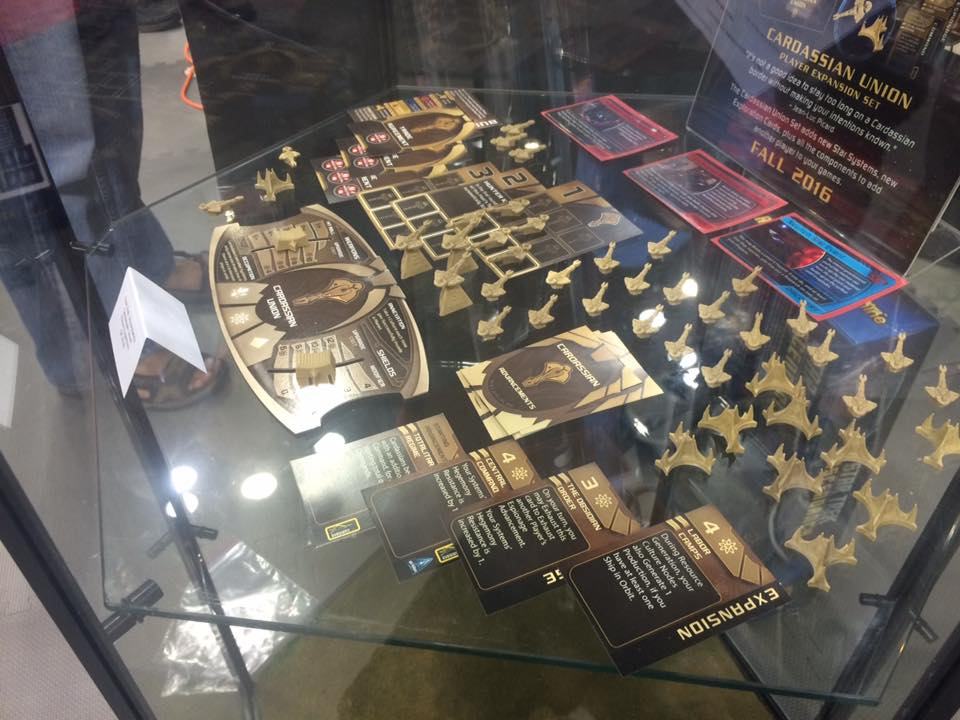Alas, the Cardassian Expansion was not ready for sale. This is the display copy.