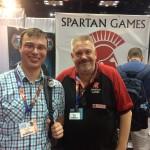 I got to meet Spartain Neil!