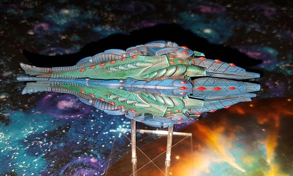 SilasDarkstar's Aquan Prime Kraken Dreadnought
